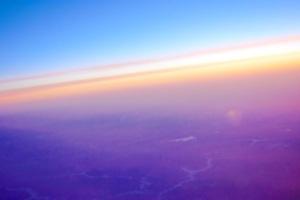 Ciel vu depuis le avion - Photo Patrick Loisel