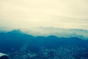 Hong Kong vista aérea