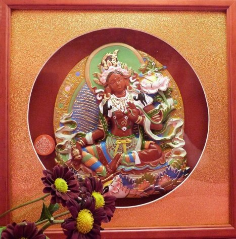 Tara Rouge - déesse tibétaine