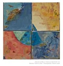 Obra em azul -3 |Oeuvre au Bleu -3 |Óleo sobre tela | Huile sur toile Photo Patrick Loisel