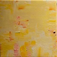 Yellow suite #1   Série Amarela #1   Oil on canvas   Óleo sobre tela   Photo Patrick Loisel