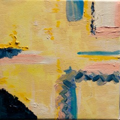Yellow suite #2 Série Amarela #2  Oil on canvas  Óleo sobre tela   Photo Patrick Loisel