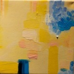 Yellow suite #3|Série Amarela #3| Oil on canvas |Óleo sobre tela Photo Patrick Loisel