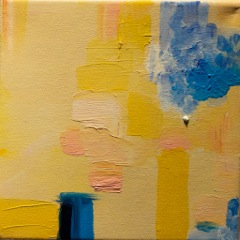 Yellow suite #3 Série Amarela #3  Oil on canvas  Óleo sobre tela   Photo Patrick Loisel