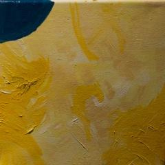 Yellow suite #4 Série Amarela #4  Oil on canvas  Óleo sobre tela   Photo Patrick Loisel