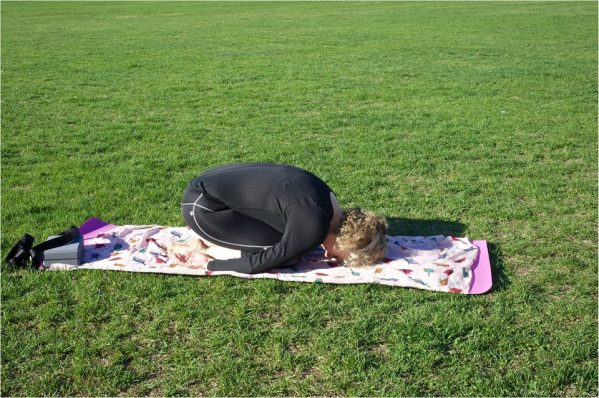 Child pose or Balasana