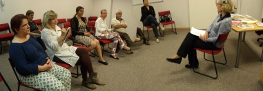 Membros do CETRANS e convidados para o Café-Encontro