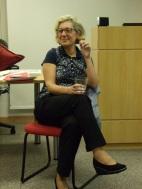 Mariana em palestra