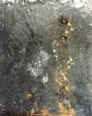 Cendres et Or 22 huile sur toile Mariana Thieriot Loisel