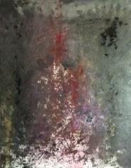 Cendres et Rose huile sur toile Mariana Thieriot Loisel