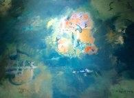 Huile sur toile suite Cendre et Or Mariana Thieriot Loisel