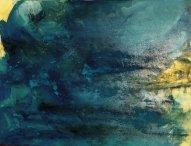 Larmes Huile sur toile 1mx76cm Mariana Thieriot