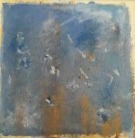 Neige huile sur toile 50x50 Mariana Thieriot
