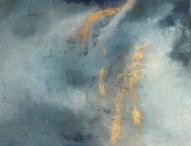 Orage huile sur toile 109x70 Mariana Thieriot Loisel