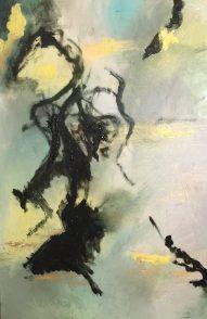 Suite Cendres et Or Huile sur toile Mariana Thieriot Loisel