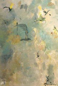 Suite Cendres et Or Huile sur toile Mariana Thieriot Loisel2