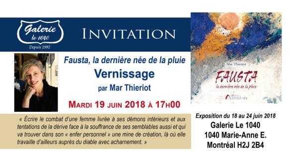 Invitation Vernissage 19-06-2018 Galerie Le 1040_Modele 1