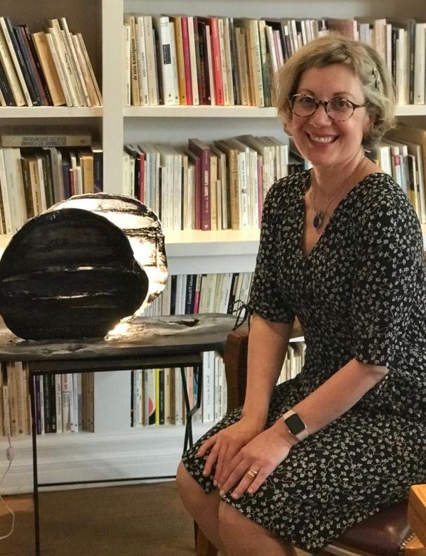 Café philo avec Mehel Artiste peintre céramiste Maison des écrivains Montreal 12 juin 2018